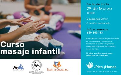 CURSO DE MASAJE INFANTIL EN ALCALÁ DE GUADAÍRA